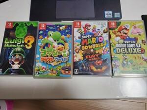 Nintendo switch ソフト4個