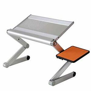 アルミ製 POWSEED ノートパソコンスタンド 多機能PCスタンド ラップトップテーブル ノートPCスタンド ノートパソコンテ