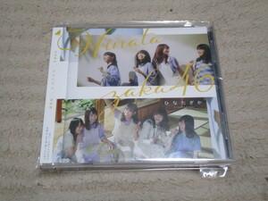 日向坂46 1stアルバム『ひなたざか』CD 通常盤 フィルムカバー&帯付き