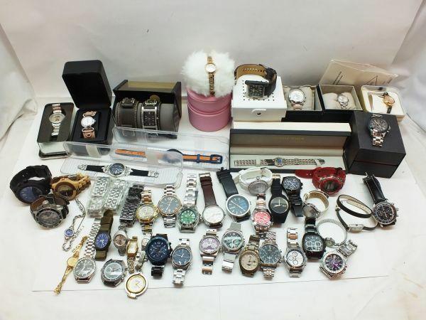 H702H 155 DIESEL CASIO TOMMY HILFIGER NIXON ZEPPELIN 他 腕時計 まとめて 計50個セット 現状品 ジャンク