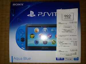 正真正銘 完全新品未開封 PS Vita PCH-2000 PlayStation Vita アクアブルー SONY
