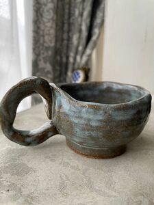陶器 コーヒーカップ 小さめ
