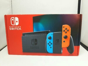 Nintendo Switch Joy-Con(L) ネオンブルー/(R) ネオンレッド(HADSKABAA)(バッテリー拡張モデル)