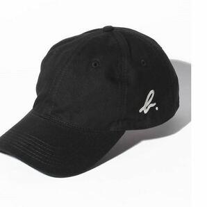 新品アニエスベー帽子キャップ黒 BLACK