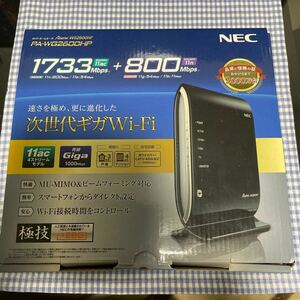 11ac対応Wi-Fiホームルータ Aterm WG2600HP 単体モデル PA-WG2600HP