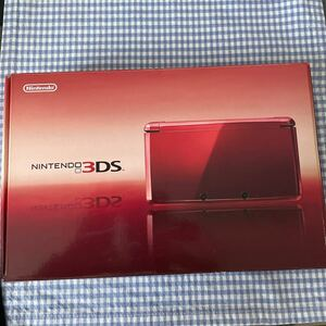 [本体なし] ニンテンドー3DS フレアレッドの箱