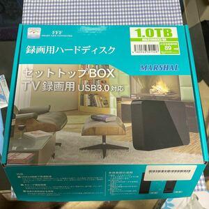 MARSHAL 外付けHDD 1TB USB3.0