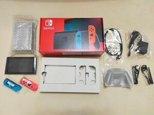 Nintendo Switch 任天堂スイッチ本体 ネオンレッド