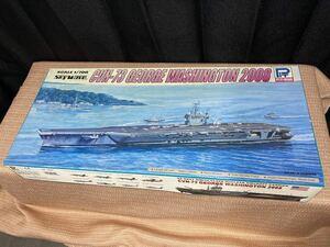 未開封 ピットロード 1/700 アメリカ海軍ミニッツ級原子力航空母艦 CVN-73 ジョージ・ワシントン 2008 スカイウェーブシリーズ