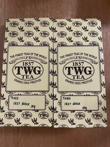 TWG ブラックティー 50g入り 2袋