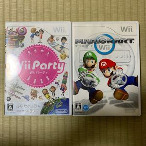 【Wii】 Wii Party ウィーパーティー MARIO KART マリオカート 中古品