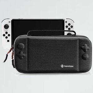 新品 好評 Switch Nintendo D-C2 ゲ-ムカ-ド収納 アクセサリ-ポ-チ 有機ELモデル対応 tomtoc スイッチ 専用ケ-ス プロコン収納