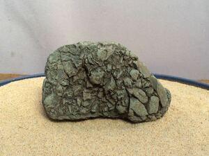 水石 自然石 天然石 ウブ石 盆石 鑑賞石 探石 庭石 盆栽 レイアウト アクアリウム 水槽 s389