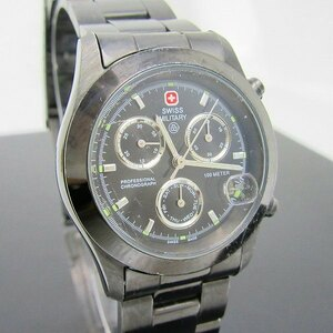 IW-5395R MILITARY 腕時計 6-573 クロノグラフ ジャンク