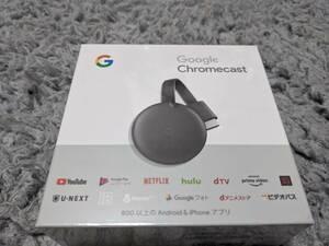 ☆送料無料☆【新品未開封】Google Chromecast(グーグル クロームキャスト)GA00439-JP