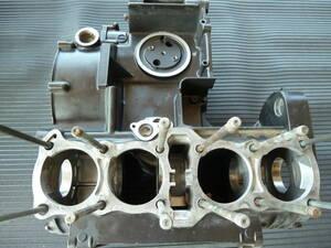 Z1クランクケ-ス クランクシャフトB/Gノックピン部 クラック、剥がれ修理修正 映像参照 J&J流オリジナル修理工法