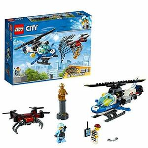 レゴ(LEGO) シティ ポリスヘリコプターのドローンチェイス 60207 ブロック おもちゃ 男の子 車