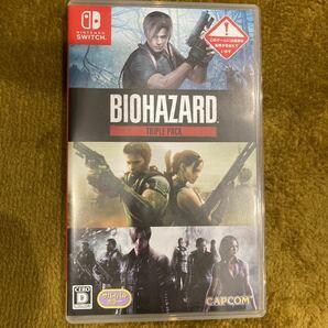 biohazard TRIPLE PACK Nintendo Switchソフト