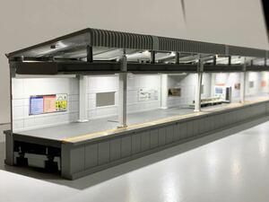 ◆KATO 近郊形ホームDX 対向式A 3個セット 照明キット組込 鉄道模型 Nゲージ カトー 23-153 23-000 レイアウト用品 ストラクチャー 駅