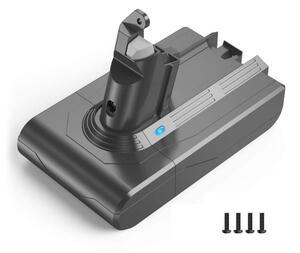 ダイソンDC62バッテリー 4000mAh 大容量 DC58 DC59 DC61 DC74 SV07 SV09 HH08 掃除機用 保護回路搭載 CE認証済み