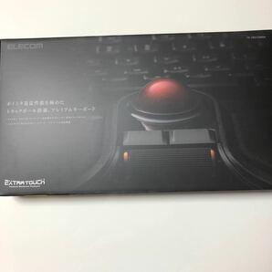 エレコム ELECOM ワイヤレスフルキーボード/メンブレン式/メカニカルライク/トラックボール付 TK-TB01DMBK