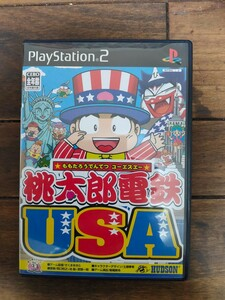 【PS2】 桃太郎電鉄 USA