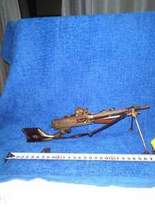 真鍮製 11年式軽機関銃1/4縮尺 全長27cm