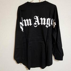 PALM ANGELS パームエンジェルス オーバーサイズ オーバーサイズ 長袖シャツ Tシャツ M BLACK