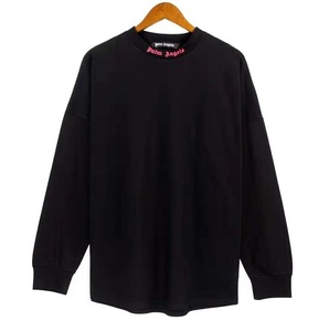 2021 パームエンジェルス オーバーサイズ オーバーサイズ 長袖シャツ Tシャツ PALM ANGELS L BLACK