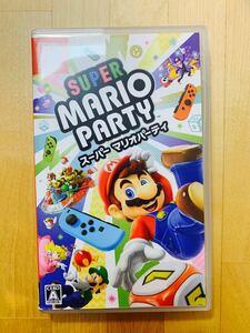 スーパーマリオパーティ Nintendo Switch ニンテンドースイッチ Switchソフト