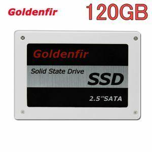 ★ 最安新品!● SSD Goldenfir 120GB SATA3 / 6.0Gbps 新品 2.5インチ 高速 NAND TLC 内蔵 デスクトップPC ノートパソコン (a1237)