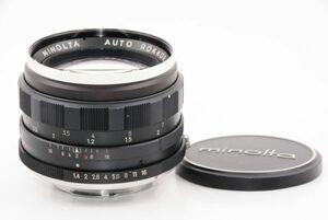 【訳あり特価】MINOLTA ミノルタ AUTO ROKKOR PF 58mm F1.4 #a6770