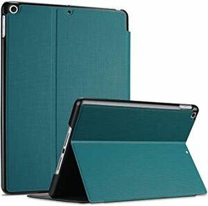 ティール ABS材 ProCase iPad 10.2 8/7 フォリオケース 耐衝撃 軽量とスリム スタンド機能 ABS素材