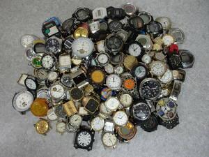 ジャンク腕時計 フェイスのみ/大量 約300点 6kg/まとめ売り まとめて セットで