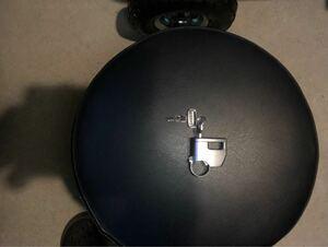 ヤマハ DT1 ヘルメットホルダー