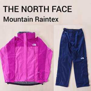 THE NORTH FACE レインウェア 上下セット GORE-TEX マウンテンレインテックス ノースフェイス レディース M アウトドア 登山