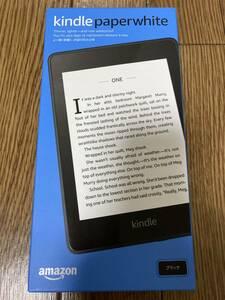 中古 Kindle Paperwhite (第10世代) - 2018年発売モデル 防水機能搭載 wifi 32GB ブラック 広告つき 6インチディスプレイ