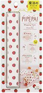いちご サンスター文具 ラッピングペーパー 包装紙 ピペパ いちご S2273977
