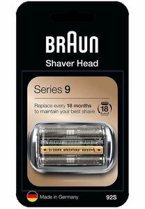 ブラウン シェーバー シリーズ9 替刃 網刃・内刃一体型カセット シルバー 92S