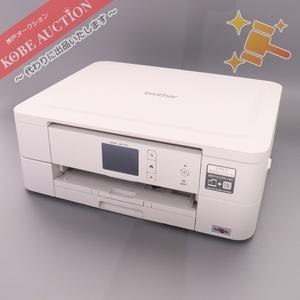 ■ brother ブラザー インクジェットプリンター DCP-J577N ホワイト 通電確認済み 中古