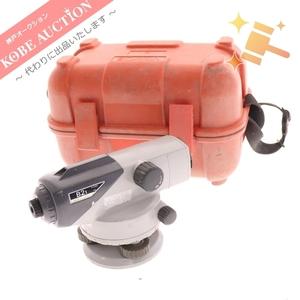 1円◆ SOKIA ソキア 自動レベル オートレベル B21 測定器 測量機 ケース付き 動作未確認 ジャンク