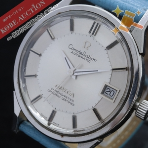 ■ omega オメガ 腕時計 Constellation コンステレーション 自動巻き 約40.5g メンズ シルバー 文字盤ホワイト 中古