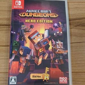 マインクラフトダンジョンズ ヒーローエディション Switch Minecraft