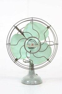 三菱 扇風機 MITSUBISHI Electric AC.ELECTRIC FAN 9-480 3枚羽根 昭和レトロ アンティーク 【保証品】