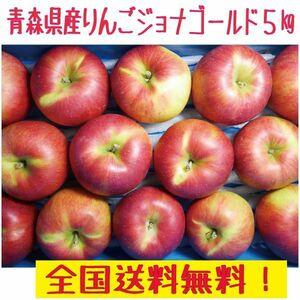 青森県産 りんご ご家庭用 ジョナゴールド5kg 全国送料無料(4)