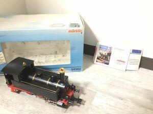marklin メルクリン Oゲージ 54502 Deutsche Reichsbahn 89-1335 蒸気機関車 外国車両 動作未確認 箱、パーツ、説明書付
