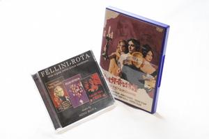 世にも怪奇な物語 悪魔の首飾り他 サウンドトラックCD DVD セット ニーノ・ロータ フェリーニ