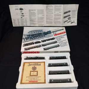 ドイツ鉄道模型 ARNOLD 0235:Bayrischer ロットNo.2562 Kniglich Bayrischen Staatsbahn MINITRIX & ARNOLD 銀座ITOYAで27年程前に購入