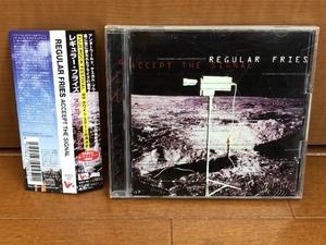 美盤 レア物 レギュラー・フライズ Regular Fries 1998年 CD アクセプト・ザ・シグナル Accept The Signal 国内盤 帯付