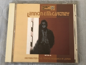 美盤 レア物 レノン&マッカートニー Lennon & McCartney 1995年 CD World Tour In Concert 国内盤 John Lennon Paul